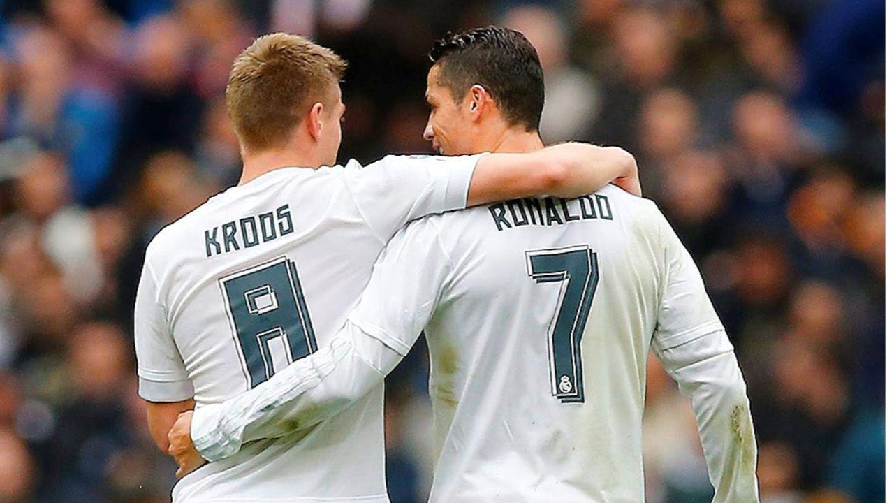 Champions League Bvb Real Madrid Toni Kroos Wackelt Cristiano Ronaldo Toni Kroos Ronaldo Cristiano Real Madrid