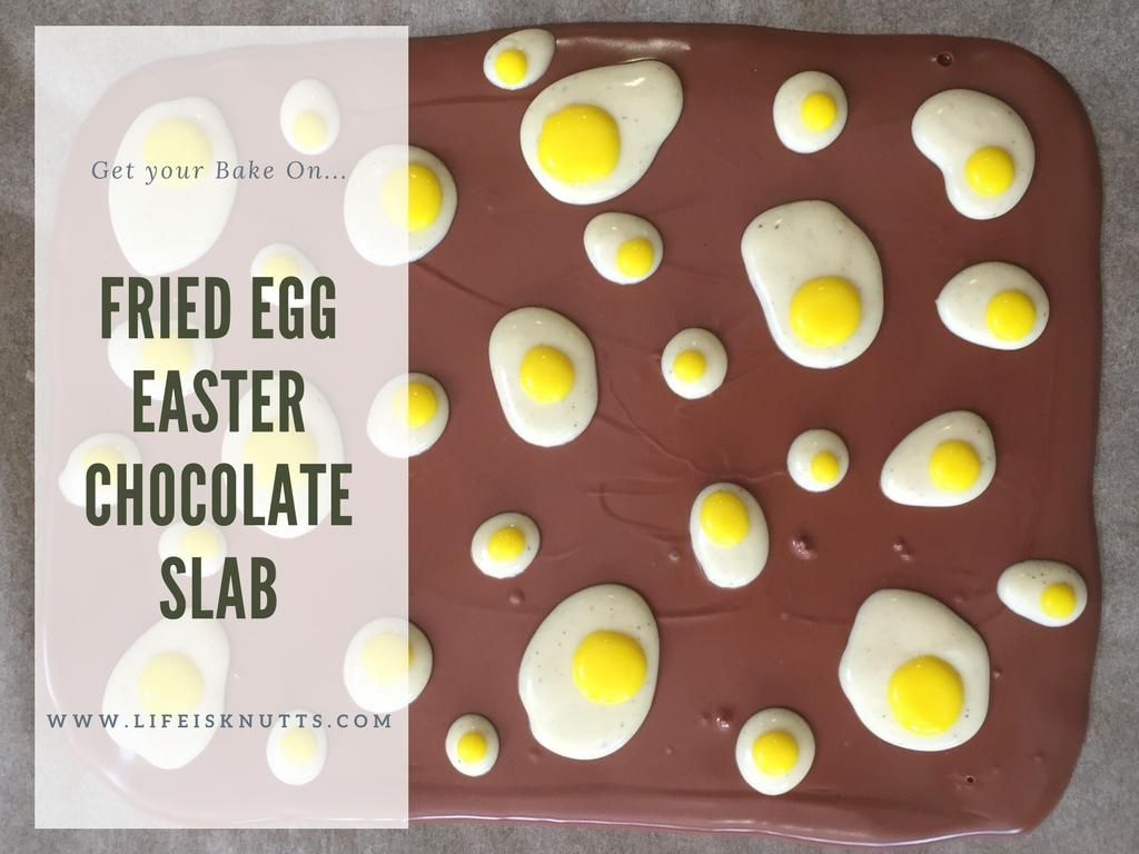 Get your bake on fried egg easter chocolate slab a how to recipe get your bake on fried egg easter chocolate slab a how to recipe for a simple and tasty easter treat a fab easter gift idea for family and friends or negle Gallery