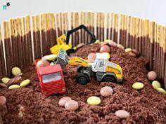 Bagger Kuchen Idee – Idiotensicher