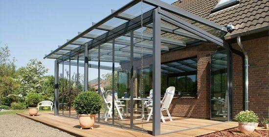 Faites Un Toit En Verre Pour Votre Terrasse Moderne. Aluminum Patio CoversPergola  ...