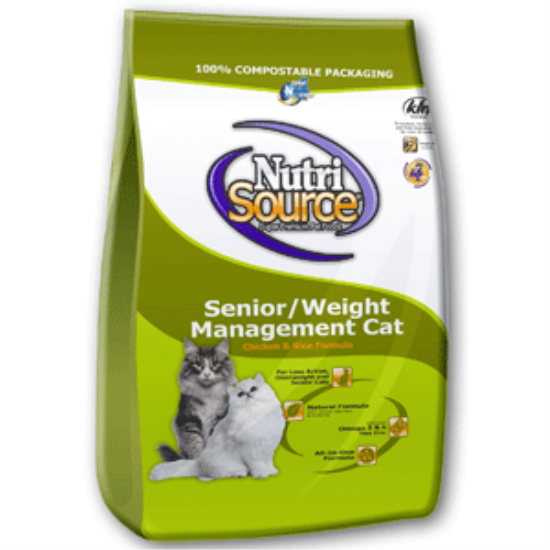 NutriSource Senior Weight Management Cat Food Weight
