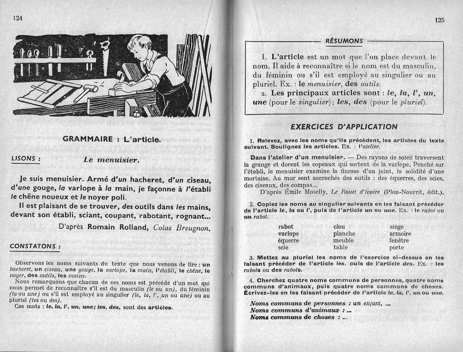 Epingle Sur Grammaire