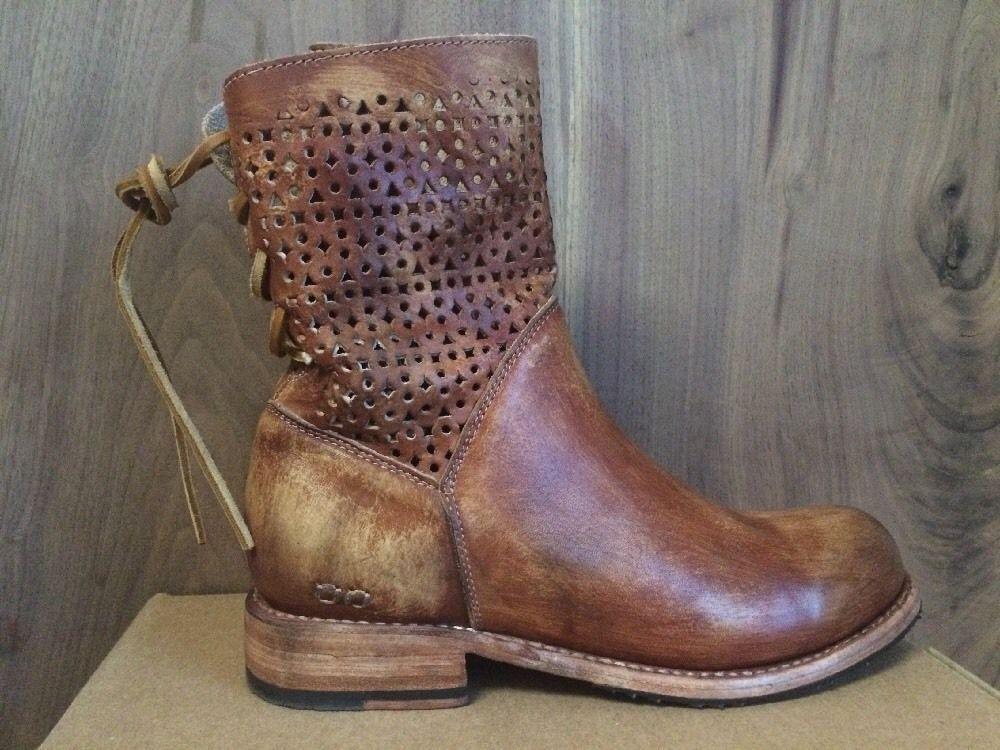 Bed Stu Bridgewater Women's Boots Tan Driftwood Brown