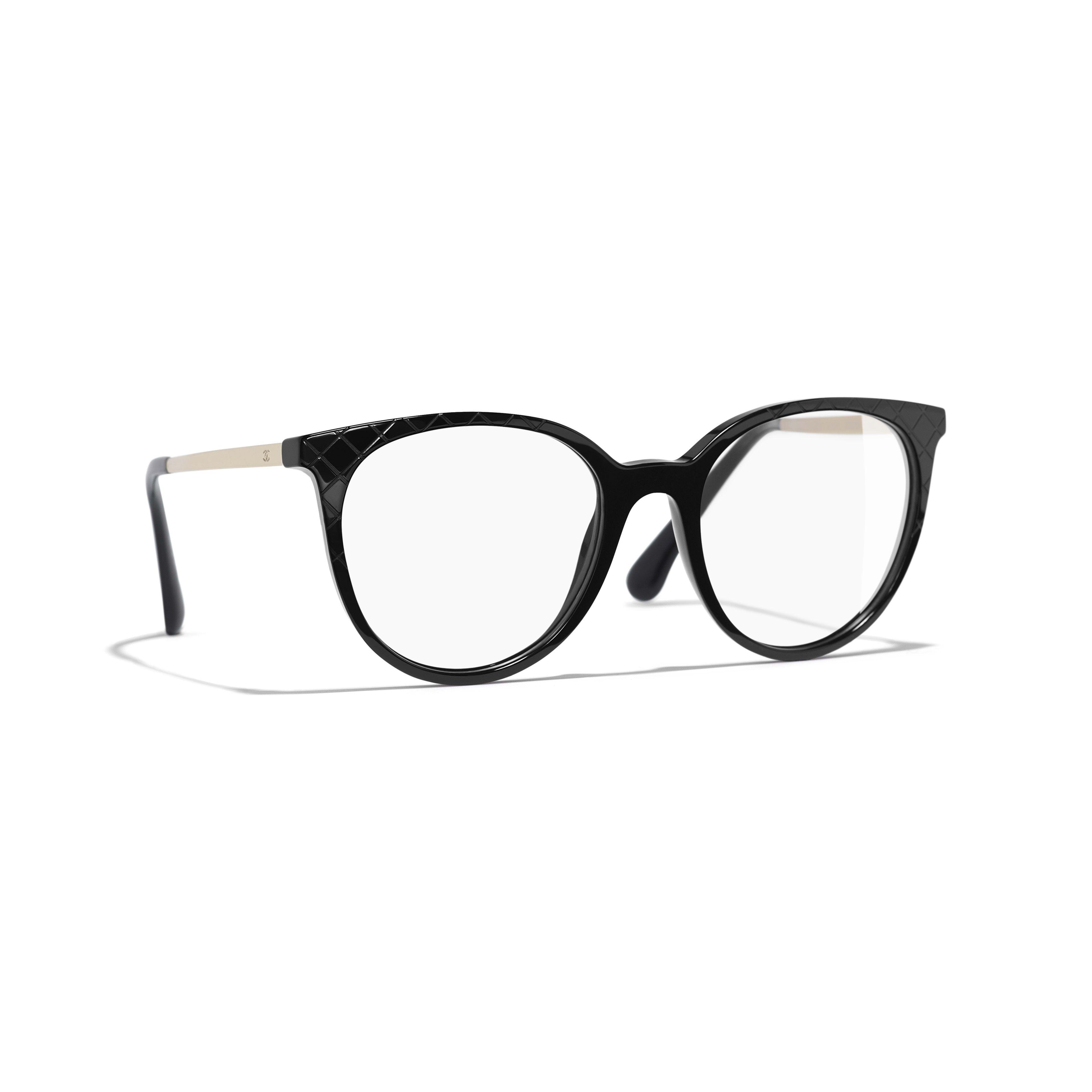 9d08677febd3 Pantos Eyeglasses - Black - Acetate   Metal - Default view - see standard  sized version