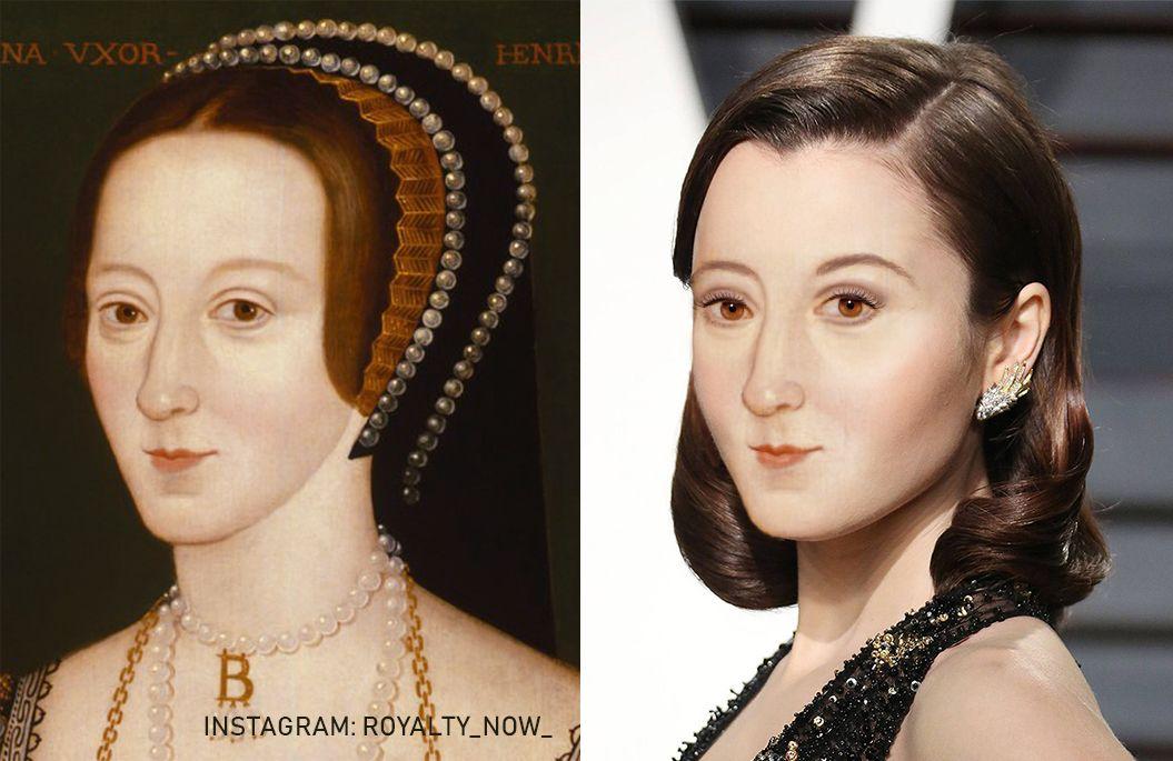 Anne Boleyn Reconstructed Anne Boleyn Portrait British History