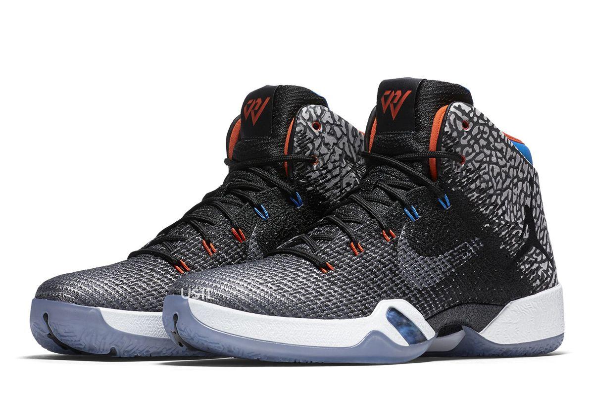 meet ca52e e5499 Air Jordan XX8 BlackOrange-Blue Russell Westbrook Here is a look at the Russell  Westbrook Air Jordan 31 PE sneaker that should be ...