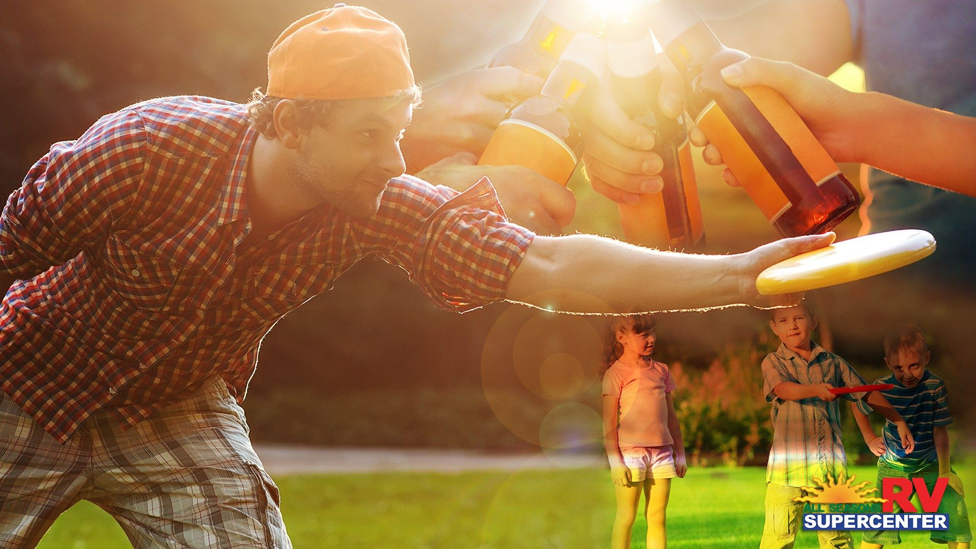 make your own frisbee challenge game picnic games and blog