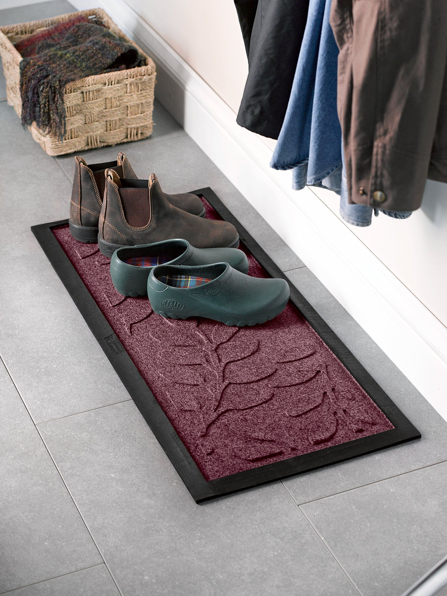 Boot Tray Laurel Leaf Water Glutton Boot Tray Mudroom Supplies