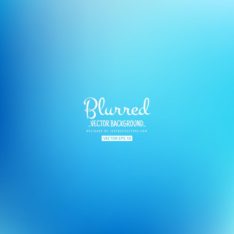 Blurred Blue Background Graphics | Blurred Background | Free
