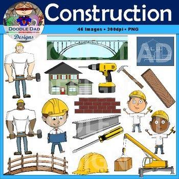 Construction clip art crane hammer blueprint worker foreman construction clip art crane hammer blueprint worker foreman house malvernweather Images