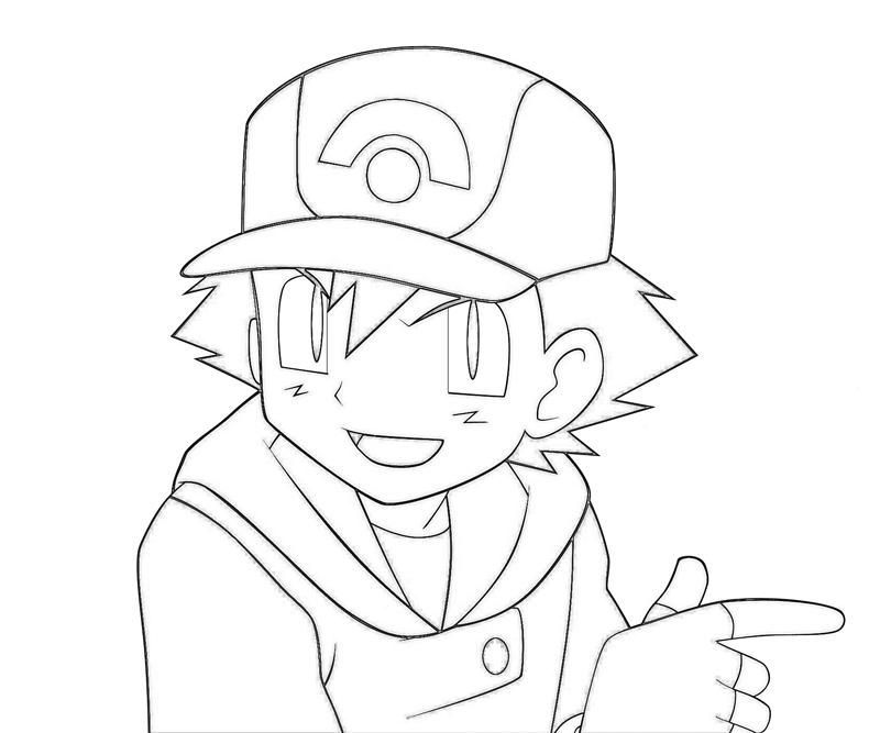 Free Download Pokemon Ash Coloring Pages Di 2020