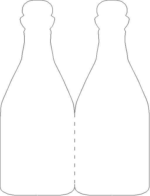 Wine Bottle Card Lots of other templates too! Various meal - wine tag template