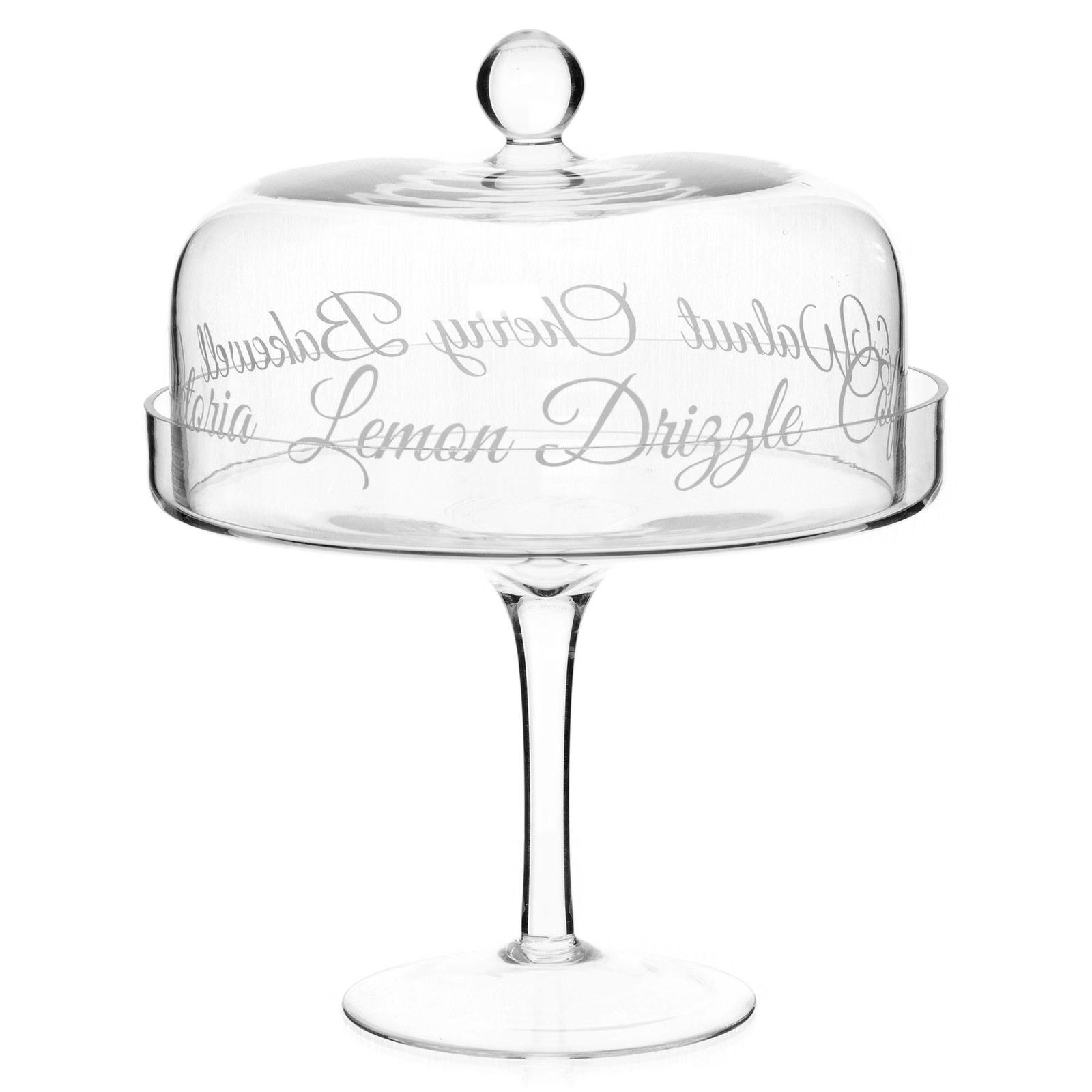 Glass Cake Stand Dome Cover