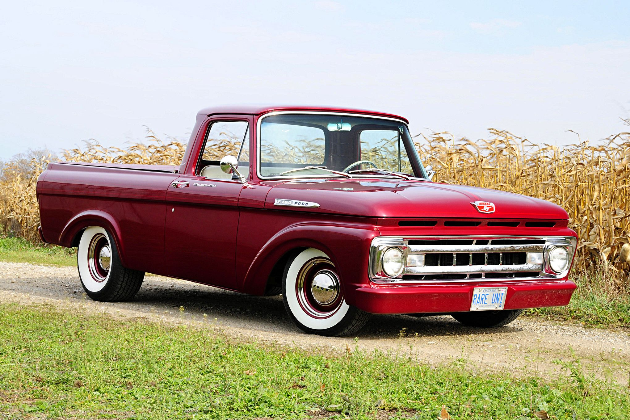 The wood family s 1961 ford unibody combines classic looks with hot rod style