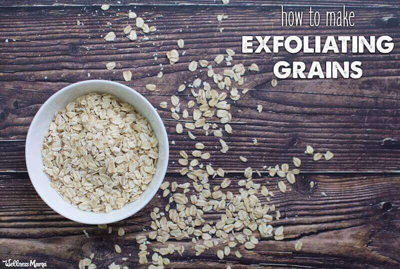 How to Make Cleansing Grains From Kitchen Ingredients in