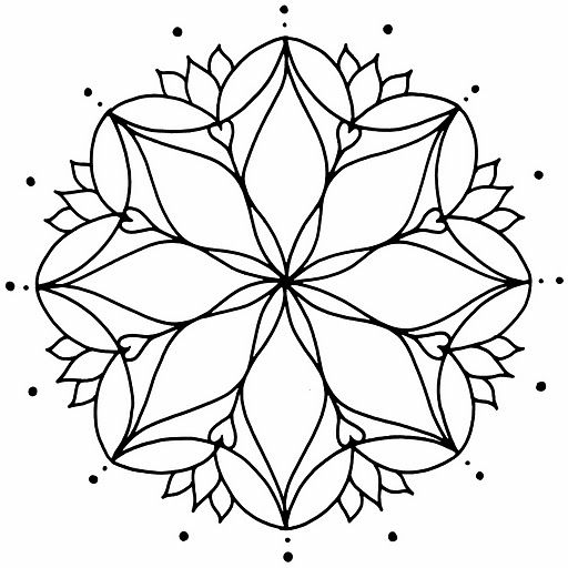 Mandalas Muy Bonitas Coloring Mandalas Mandalas Para Colorear Y