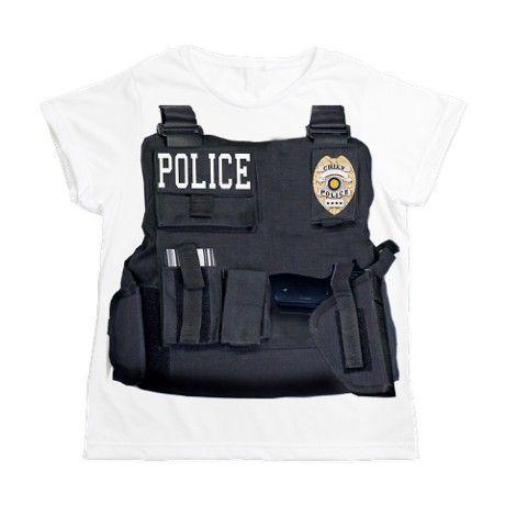 cd5e7393 Police Costume Womens All Over Print T-Shirt on CafePress.com for parents