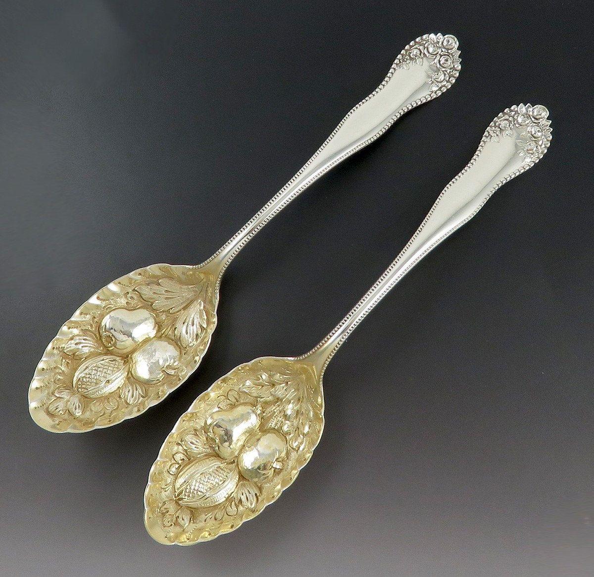Lancaster Gold by Gorham Sterling Silver Salad Fork 6