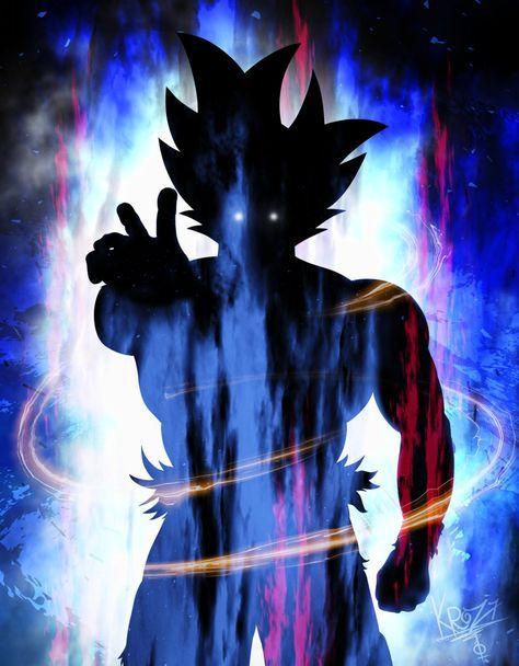 Goku Limit Breaker Shadow by secrethet on DeviantArt