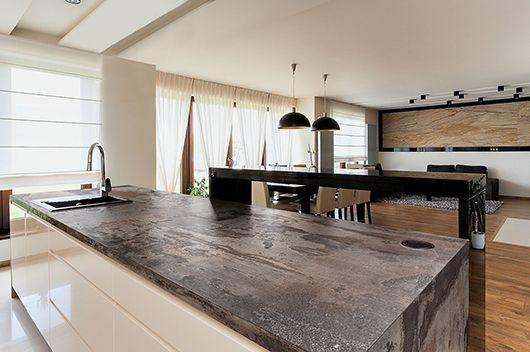 Dekton Kitchen Trilium Cocina Kuche Design Arbeitsplatte