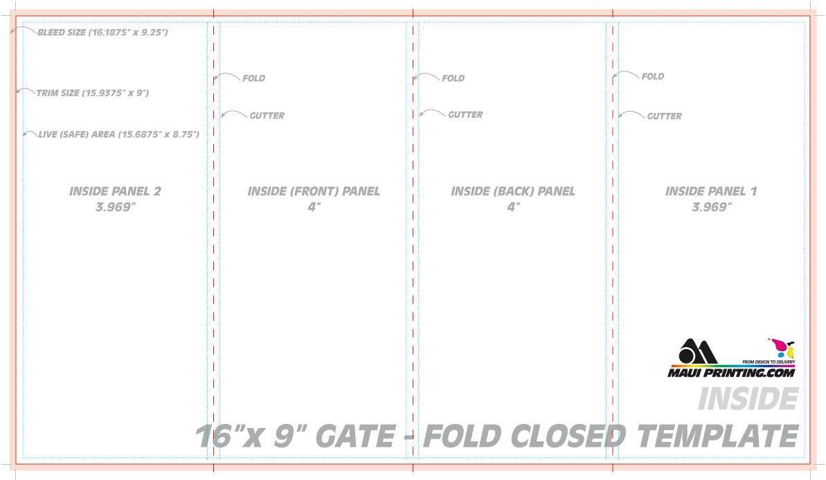 The Cool Gate Fold Brochure Template Cumed With 4 Fold Brochure Template Word Pics Below I Brochure Template Free Brochure Template Brochure Design Template