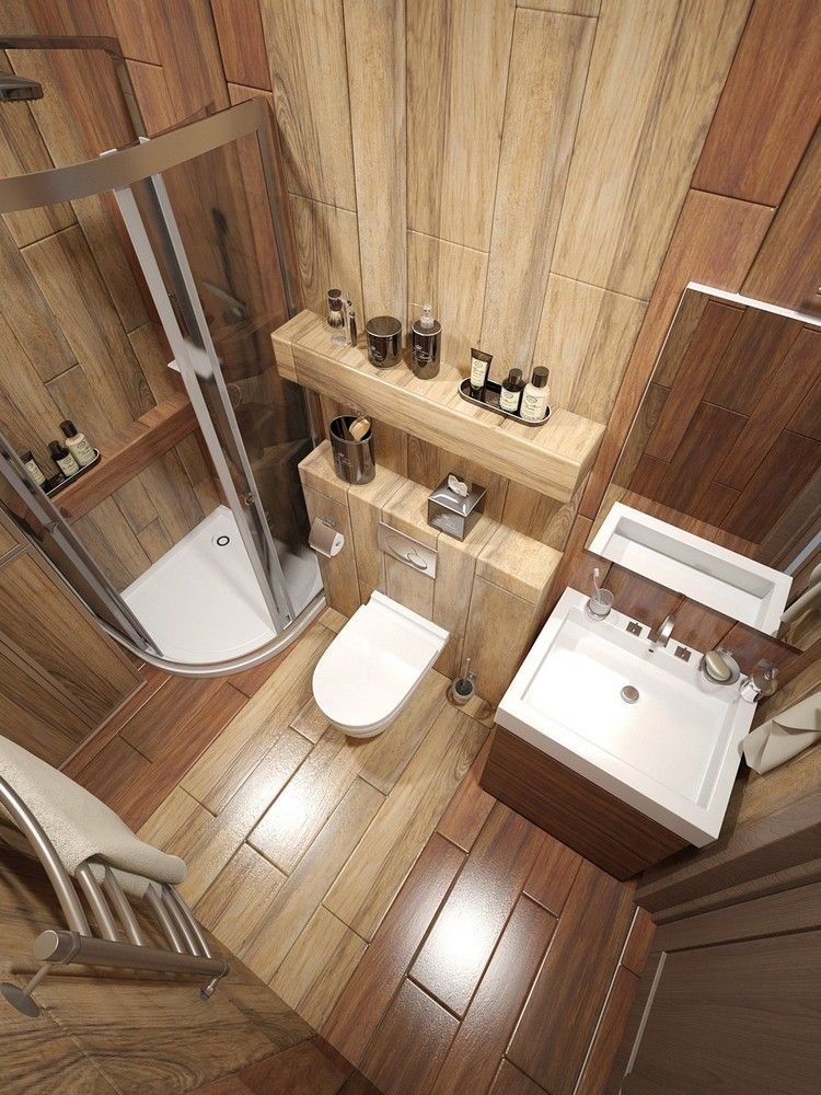 Moderne Badezimmergestaltung - 30 Ideen für kleine Bäder