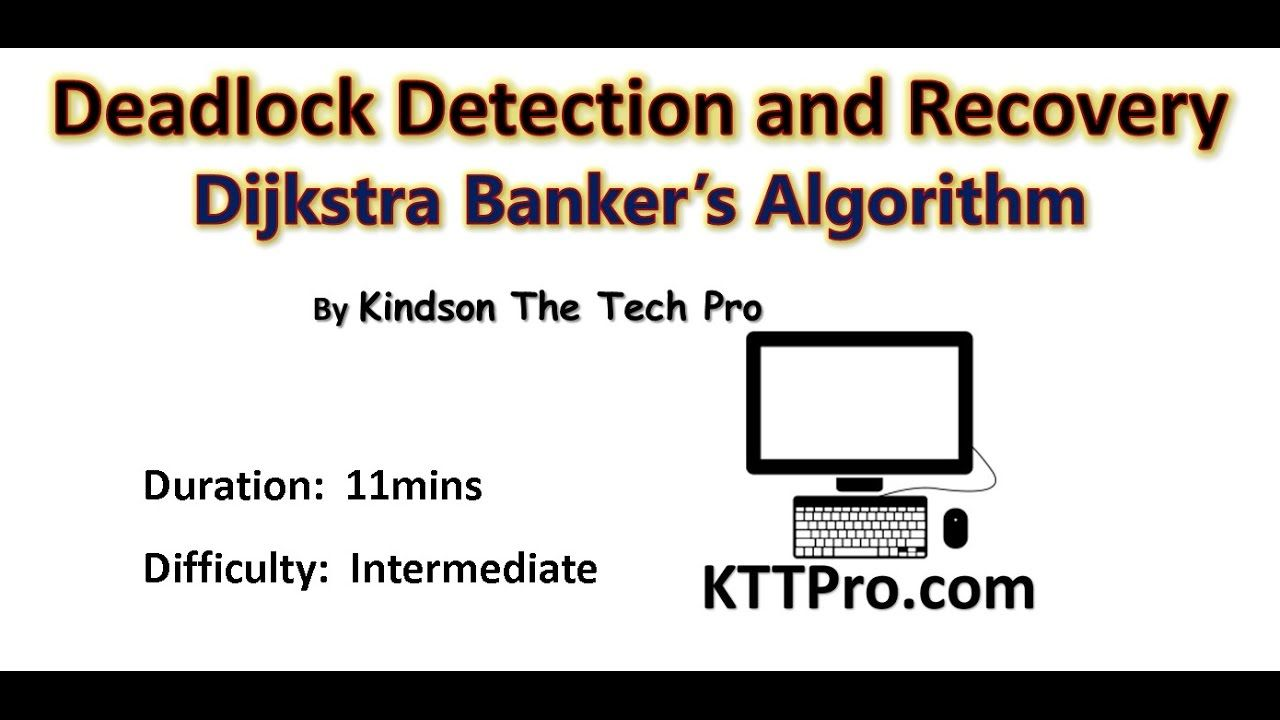 Os Part 10 Deadlock Detection Recovery And Avoidance In