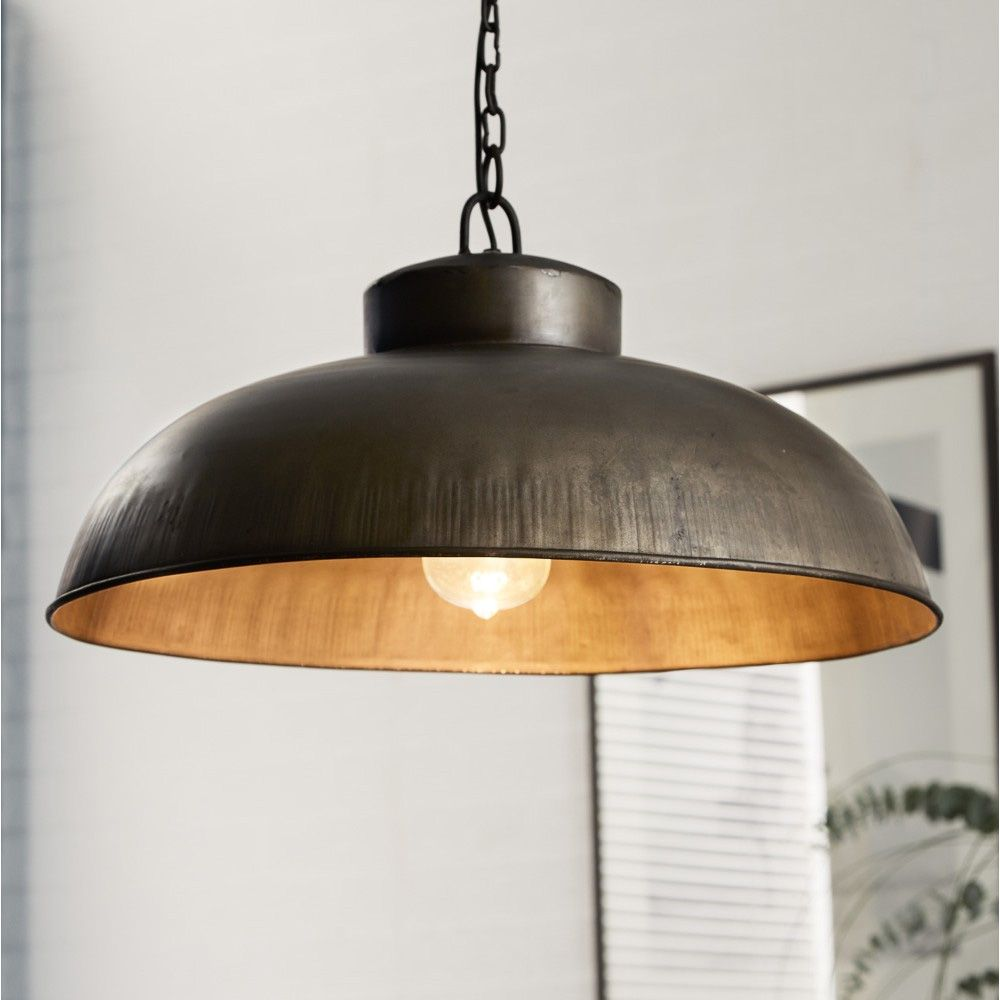 Fashionable Industrial Style Hanging Lamp With A Sleek Retro Design