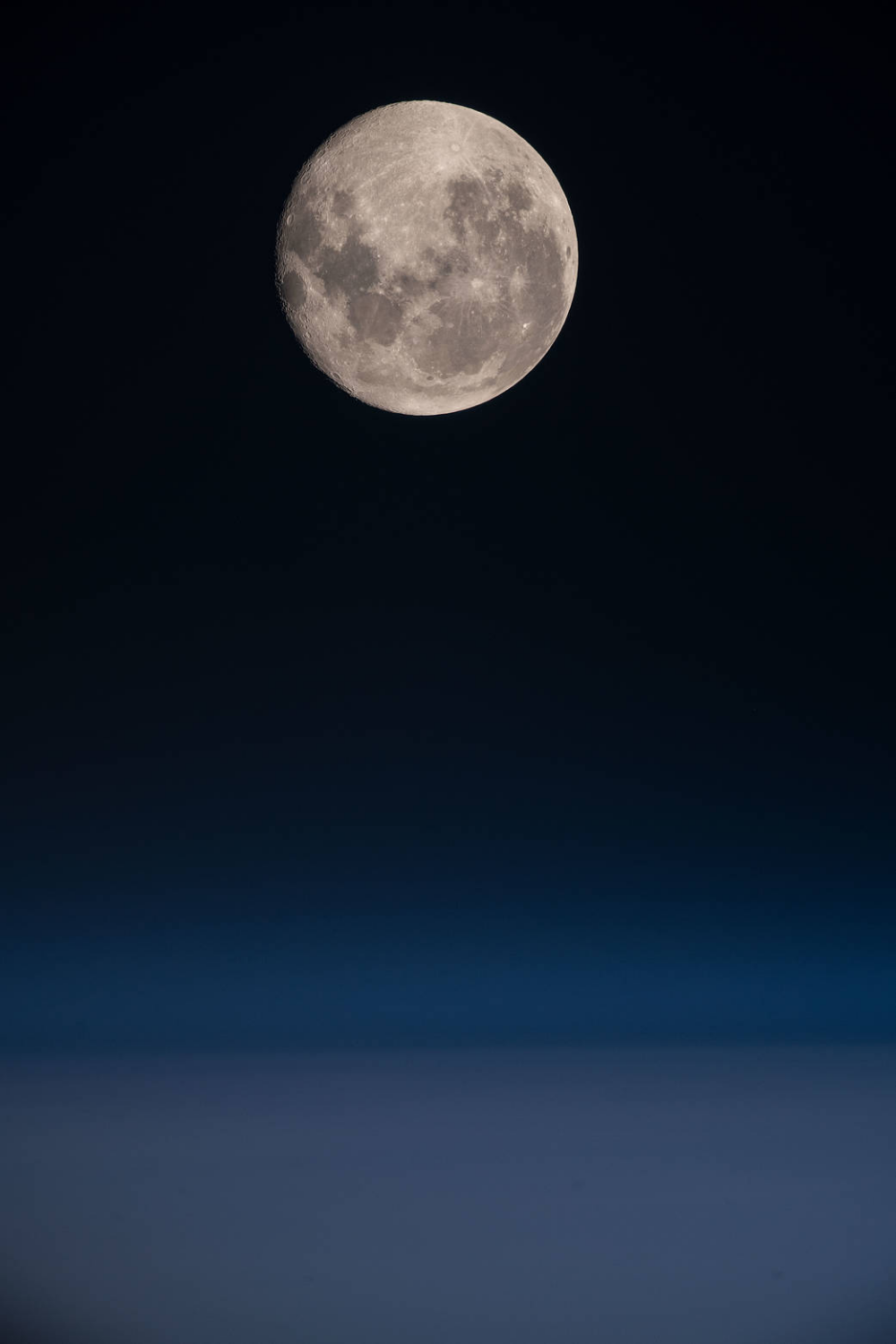 A Full Moon Over the Pacific | NASA