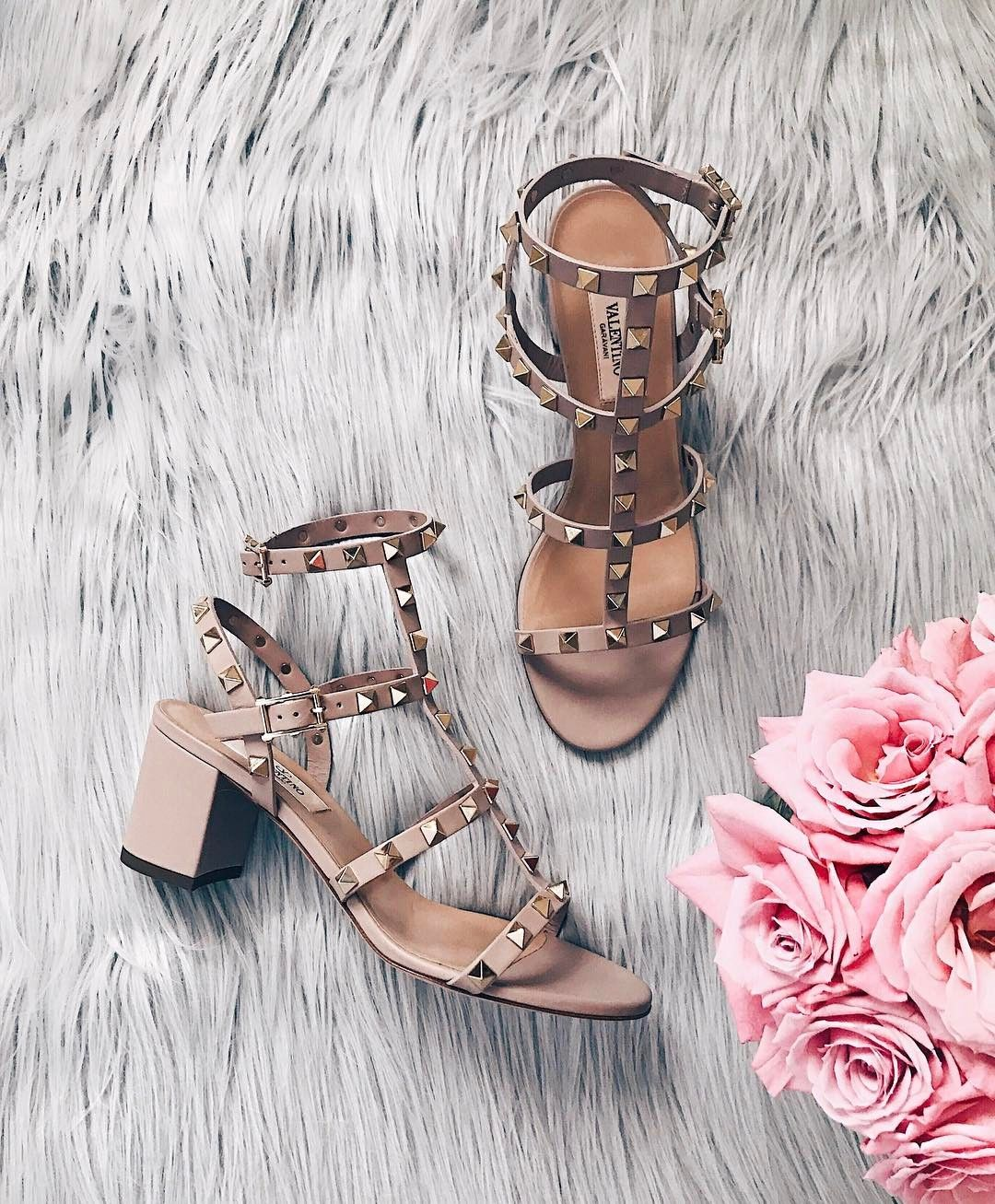 Valentino rockstud leather sandals available on nordstrom summer sandals boho wrap platform 2017 designer