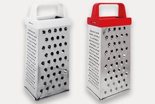 Rallador es un utensilio de cocina empleado para picar muy for Rallador de cocina