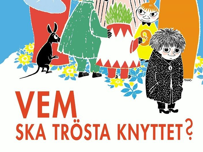 """Tove Jansson läser """"vem ska trösta knyttet?"""""""