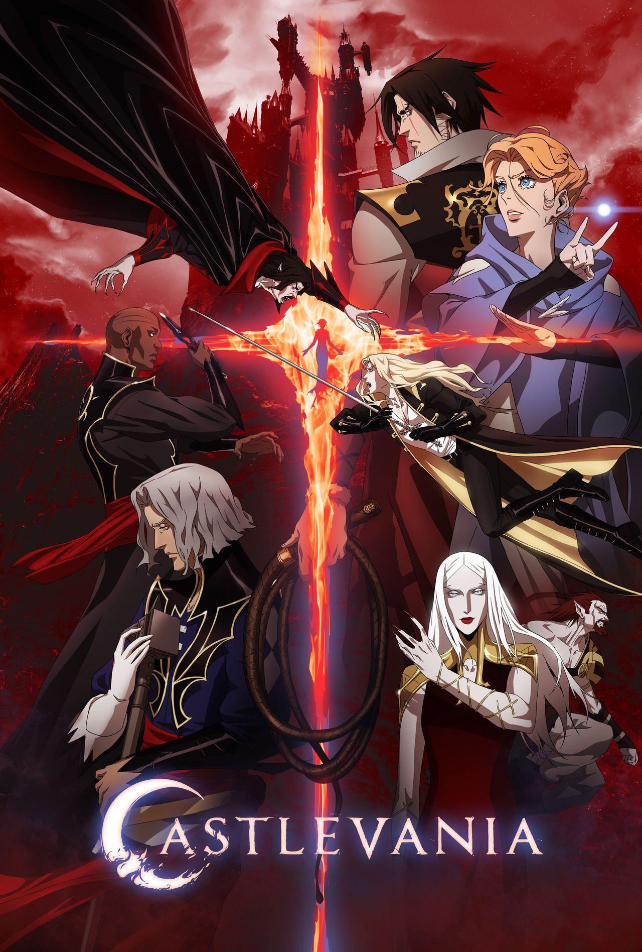 Pin by Sakura Crimons on Castlevania Anime shows, Anime