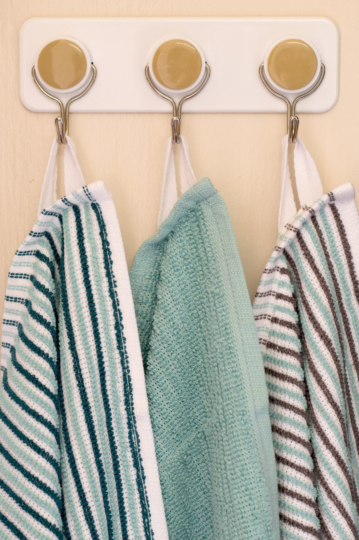How To Add Loops To Dishtowels For Hanging Dish Towels Kitchen
