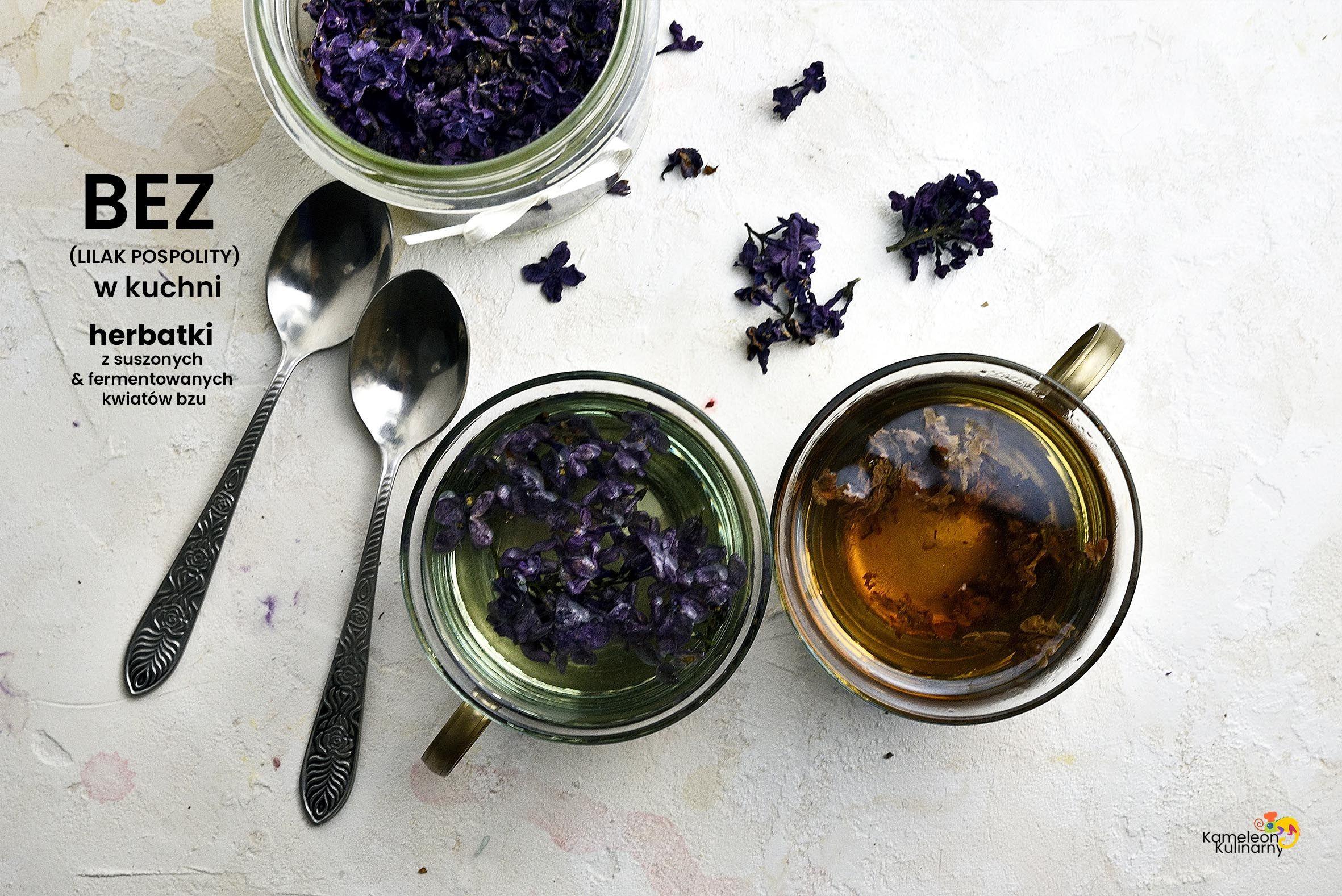 Bez W Kuchni I Herbatka Z Suszonych I Fermentowanych Kwiatow Bzu Ashtray Flowers
