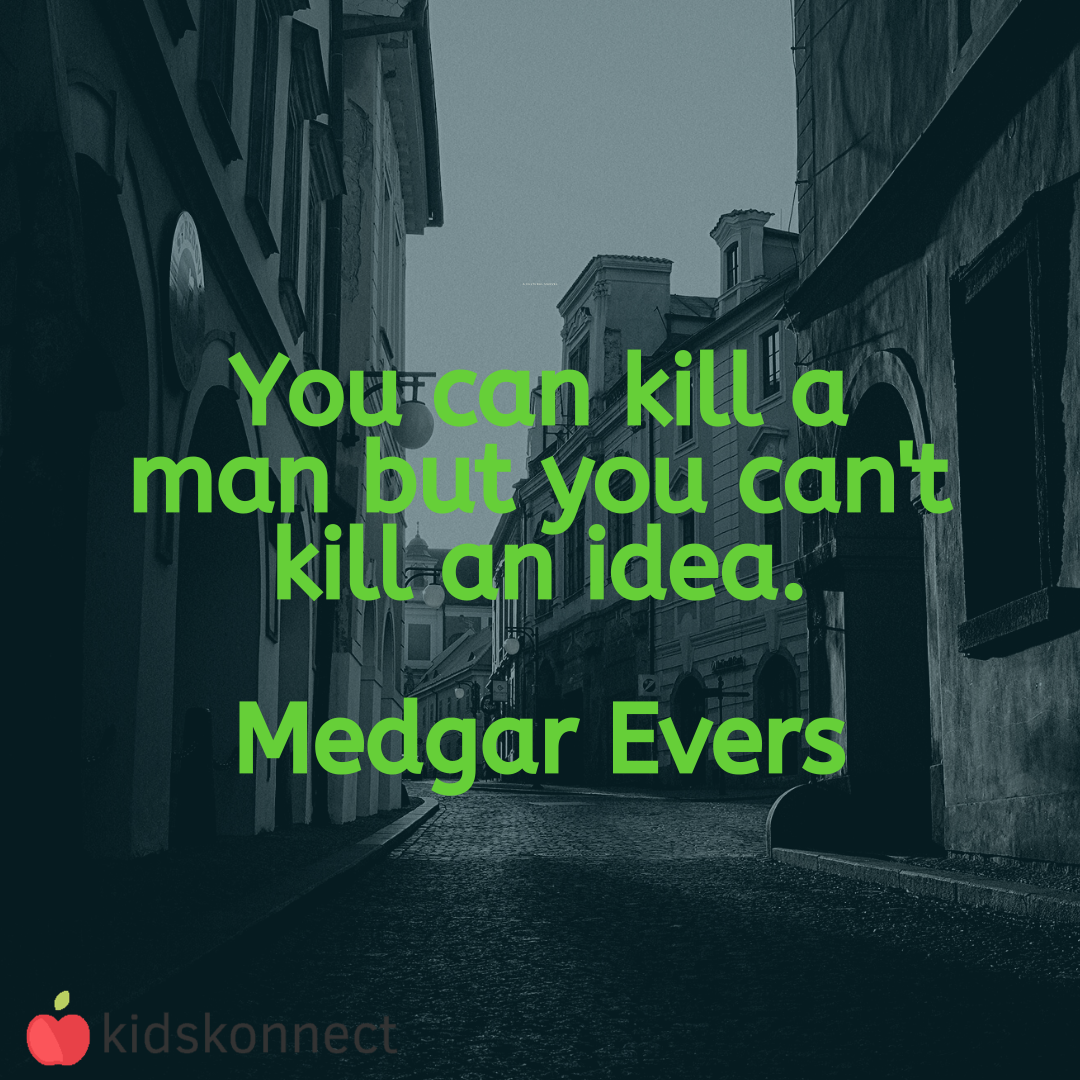 Medgar Evers Quotes In