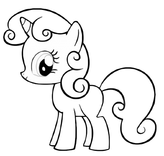 Image result for my little pony coloring pages Redwork Pinterest