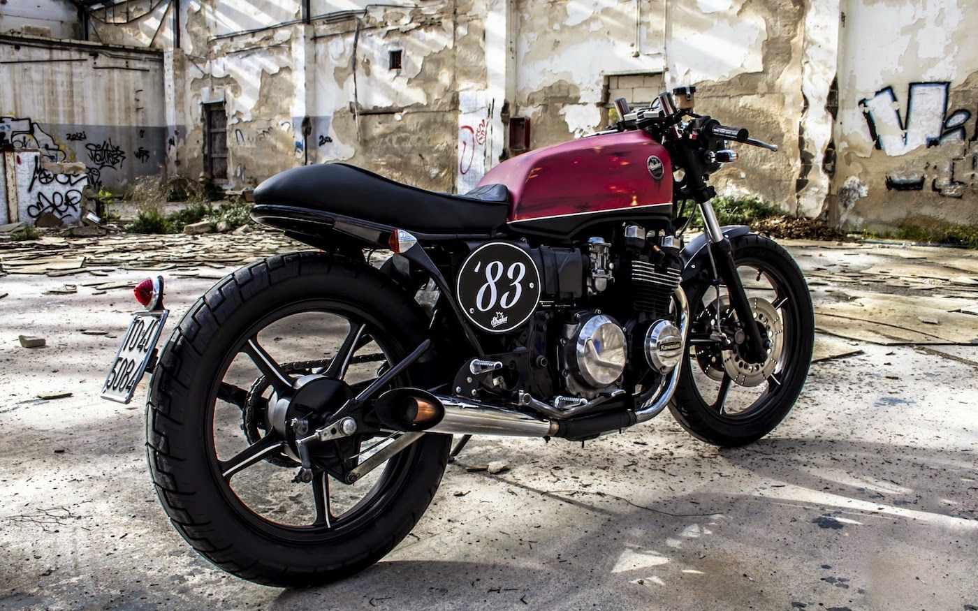 Kawasaki Gpz 550 Cafe Racer Motorcycle Dreams Custom
