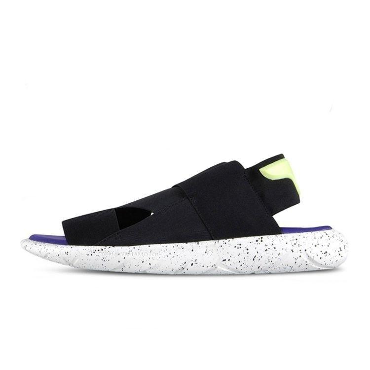 87953b3a8 adidas Y-3 Qasa SandalBLACK WHITE AQ5585 Fashion beach Shoe Mens Womans