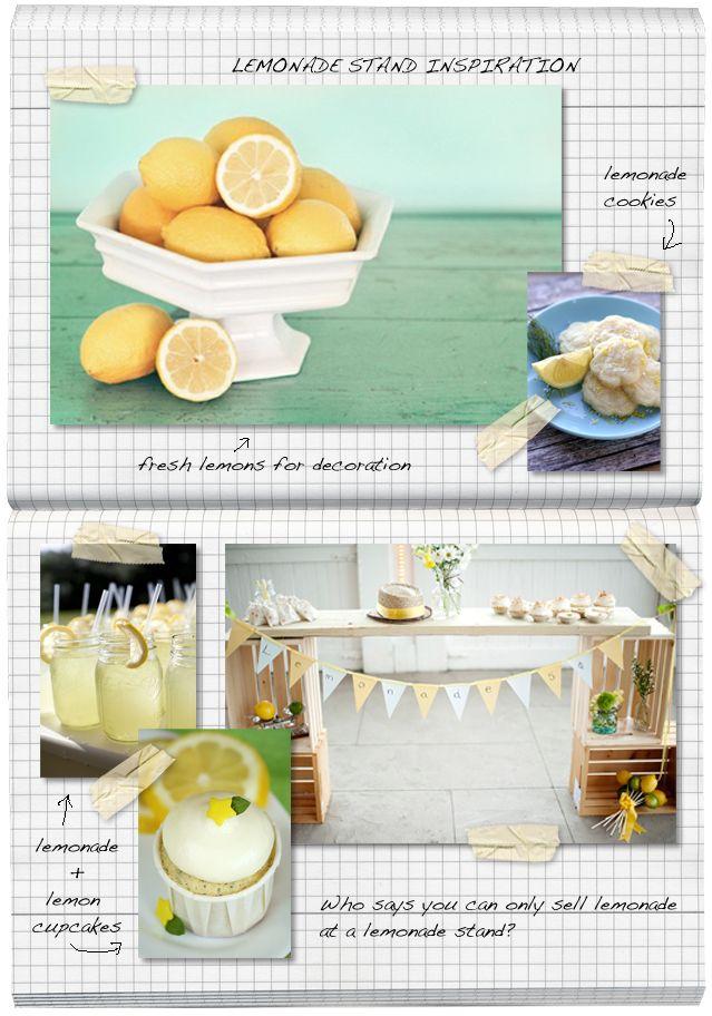 Lemonade Stand Inspiration + FREE Printables