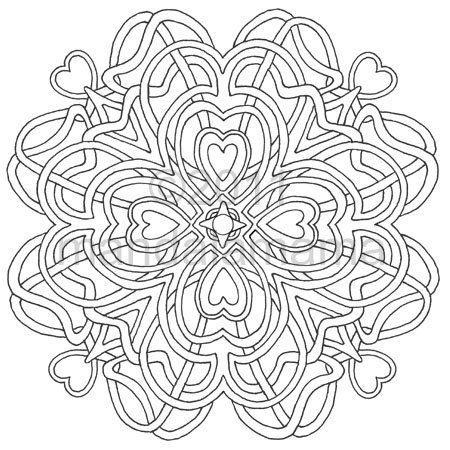 Ausmalbilder kostenlos mandala geometrie zu drucken und farbe digitale manda mache die - Digitale weihnachtskarten kostenlos ...