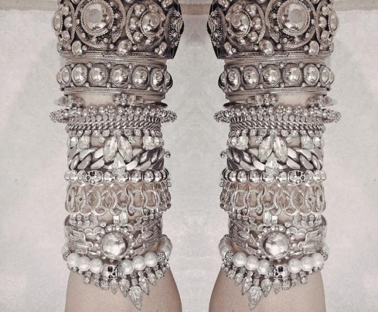 Tribal Silver / Gypsy Bride / Wedding Style Inspiration / LANE (instagram: the_lane)