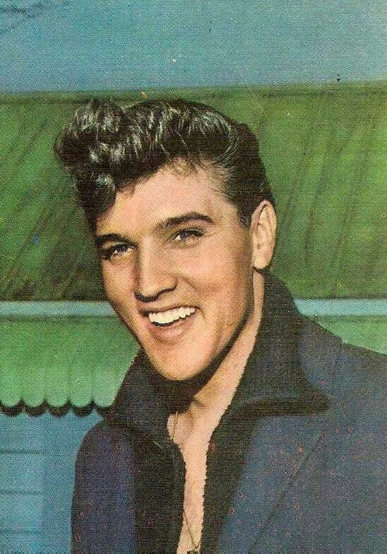Painting/drawing of Elvis at Graceland, March 1960