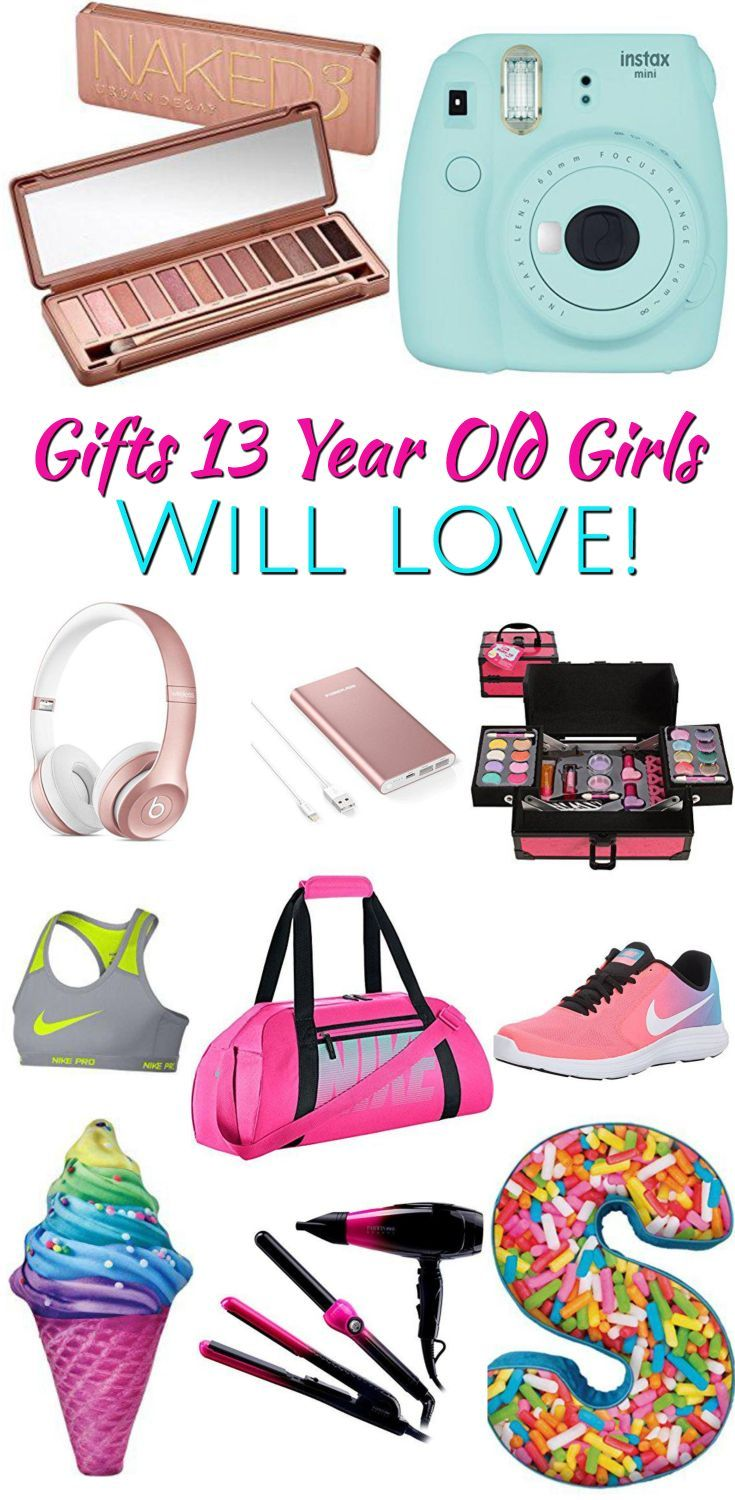 Best Gifts For 13 Year Old Girls   Birthday gifts for girls, Birthday gifts for teens, Birthday ...