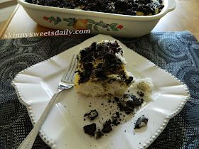 Skinny Sweets Daily: Outrageous Skinny Cookies and Cream Cake