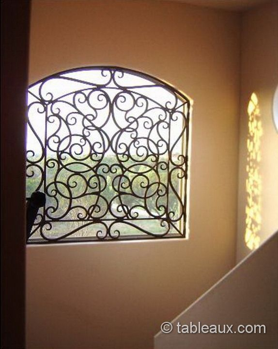 This Is A Nice Design Gt Gt Tableaux Faux Iron Grilles