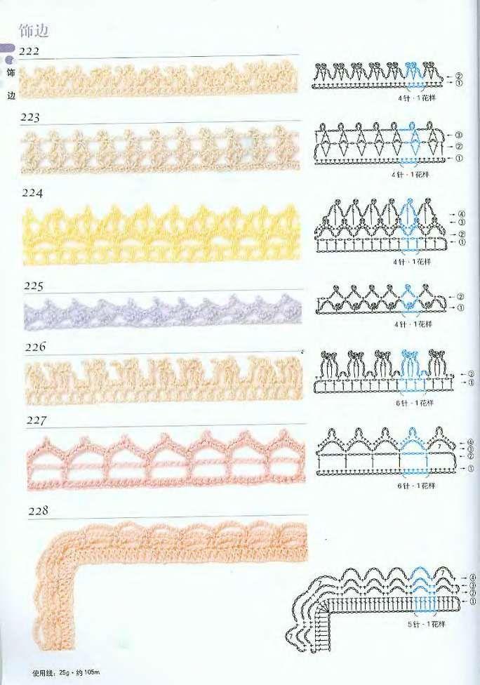 Page 0091 Jpg 684 976 Pixels Bico De Croche Bicos De Croche