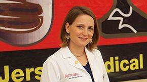 #Rutgers' Claire Sathe discovered her calling when she became a patient.
