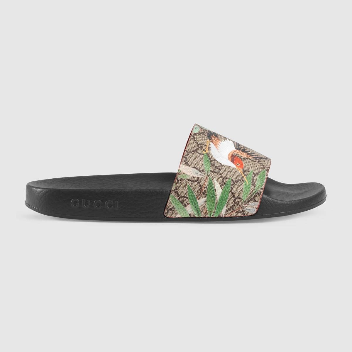 80a05feaf5d GUCCI Men s Gucci Tian slide sandal - GG Supreme tian.  gucci  shoes ...