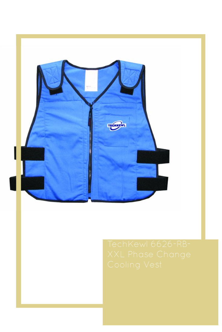 A Cool Vest Keeps You Cool On Hot Summer Days While You Work